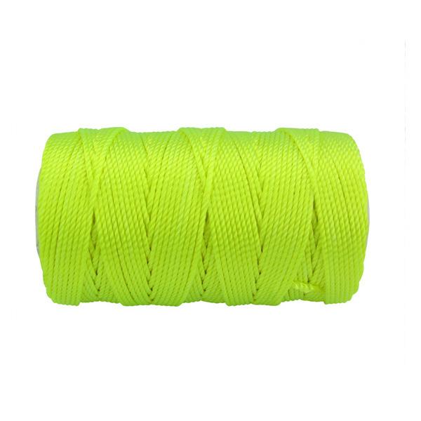1000 Feet, Fluorescent Orange Twine Cord Braided Nylon Mason Line