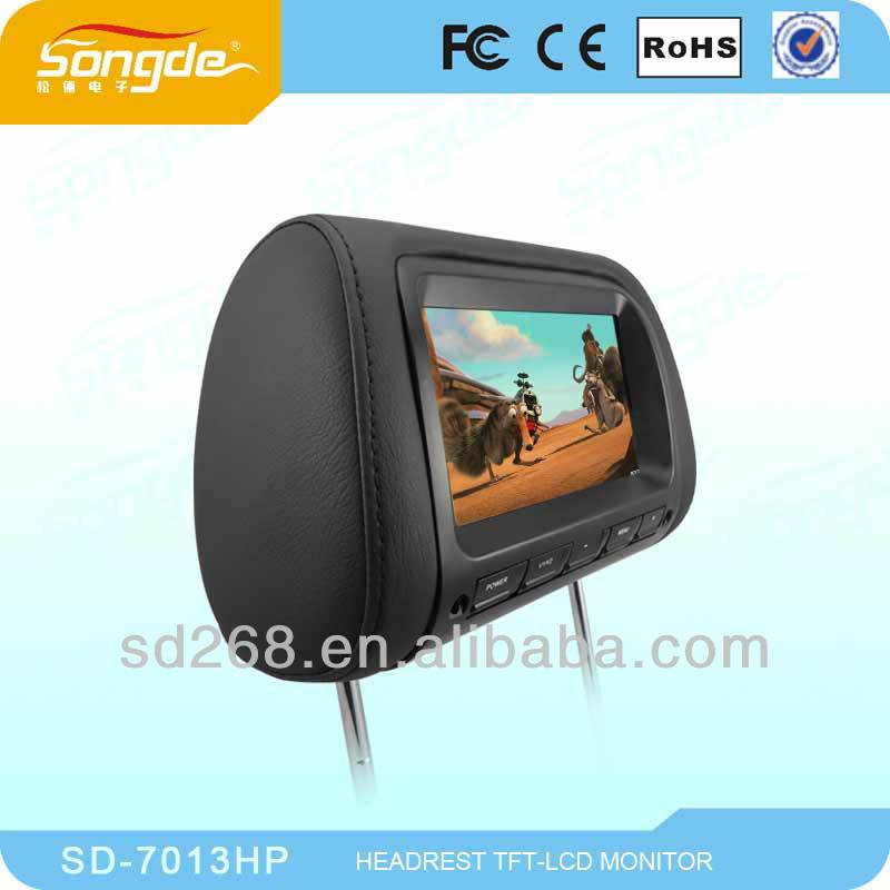 China wholesale 7 inch car headrest monitor