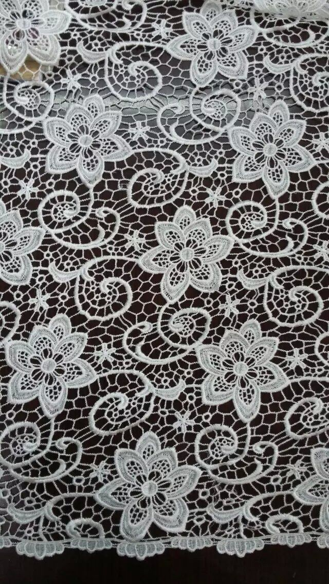 Top One China African Lace 100 Polyester Different Types