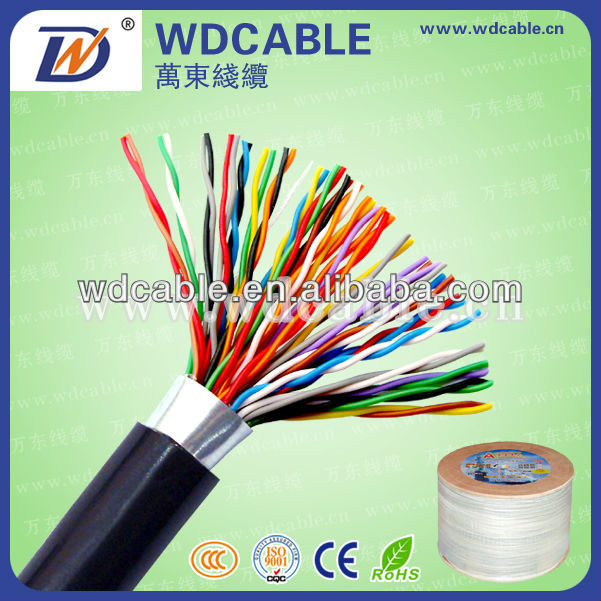 20 pair CCA 26 AWG telephone cable