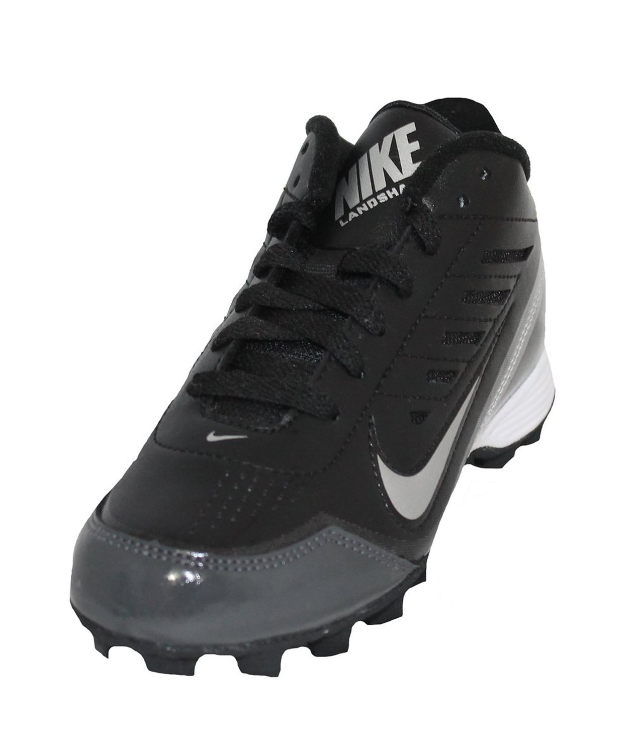2a7452625 Buy Nike Land Shark 3 4 Wide BG Youth 10c Football Molded Cleat Blk ...