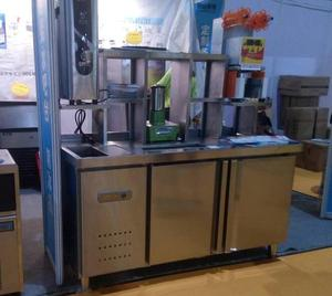 Restaurant commercial S.S 201/304 refrigerated salad bar/Stainless Steel Salad Bar Display Freezer