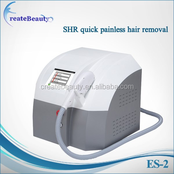 High Quality Depilation shr fast hair removal for stretch mark removal machine