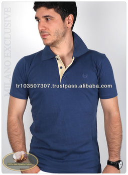 Polo shirt 100% cotton high quality fashion polo shirt