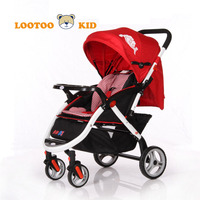 Alibaba trade assurance china factory hot sale polyester trolley baby stroller