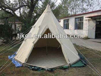 New design cotton canvas Indian tipi tent 4m & New Design Cotton Canvas Indian Tipi Tent 4m - Buy Tipi Tent4m ...