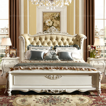 2017 Latest Double Bed Designs Turkish Furniture King Size Leather
