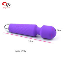 Silicone sex vibrator Japan AV Magic Wand Massagers sex toy women