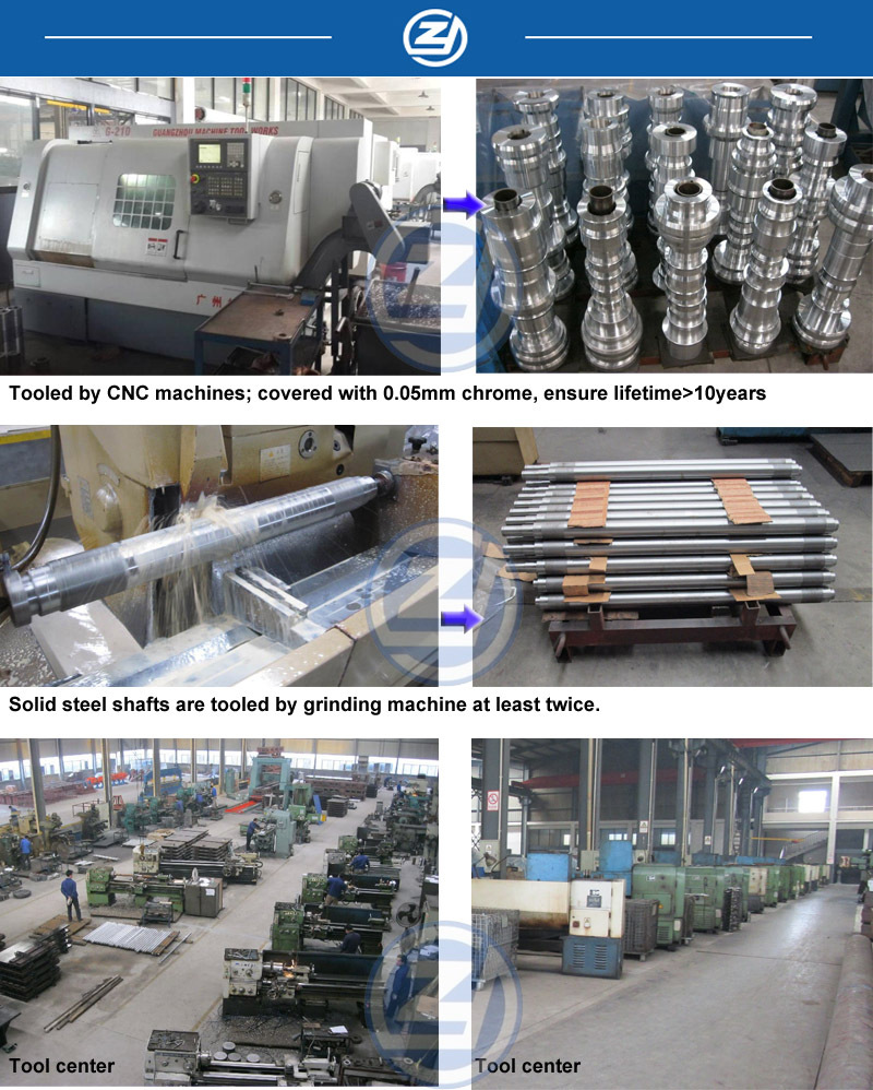 Supper Market Goods Storage Rack Roll Forming Machine With