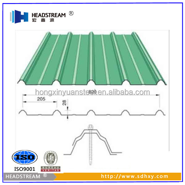 Different Types Of Roof Tile Corrugated Steel Roofing