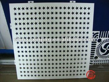 Exterior Decoration Metal Perforated Wall Panel /covering/cladding(ISO9001,CE) Part 90