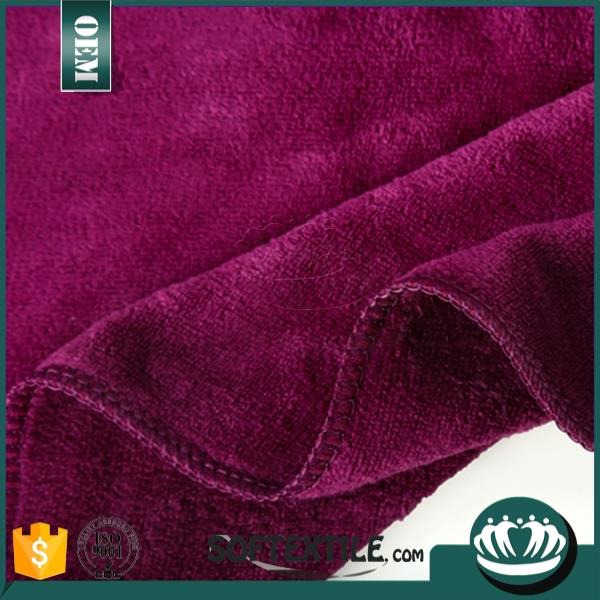 Super absorbent and soft microfiber cleaning cloth/microfiber towel sport