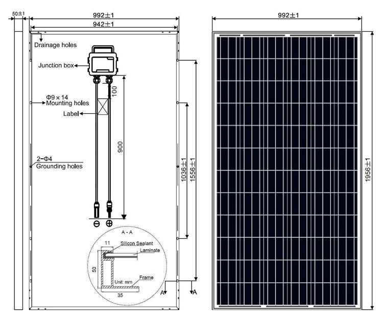 Solar Frontier 300wp Solar Pv Module 4bb Poly 300w Solar