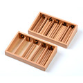 Family Version Baby Toy Spindle Box With 45 Spindles Montessori Mathematics Learning and Education Educational Toys