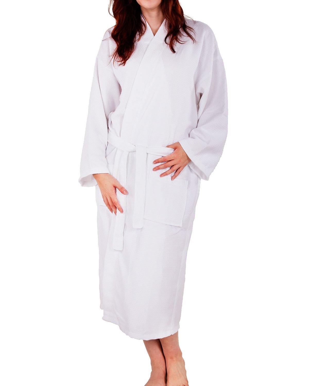 8cc86dcc73 Cotton waffle weave robe kimono spa bathrobe made in turkey diamond pattern  unisex jpg 1200x1500 Cotton