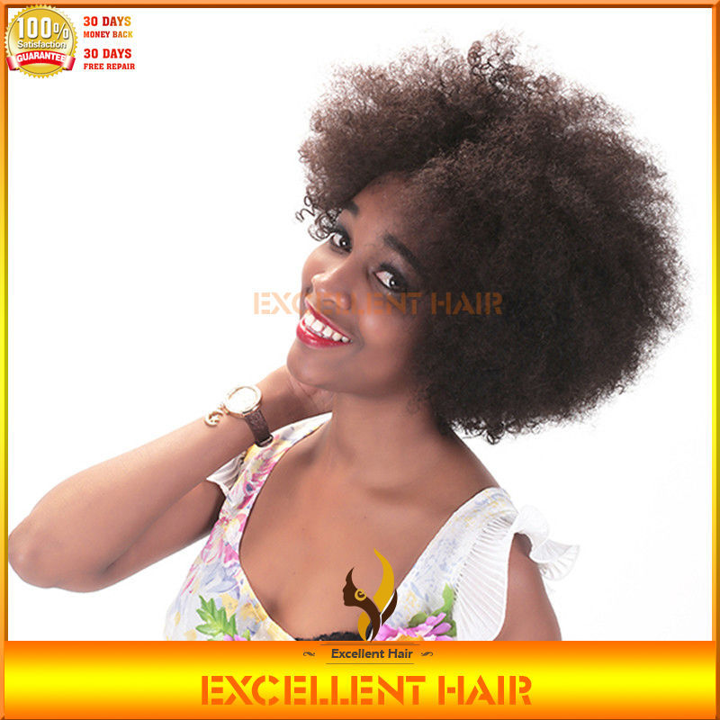 The New York Quality Natural Scalp Afro Curly Virgin Human