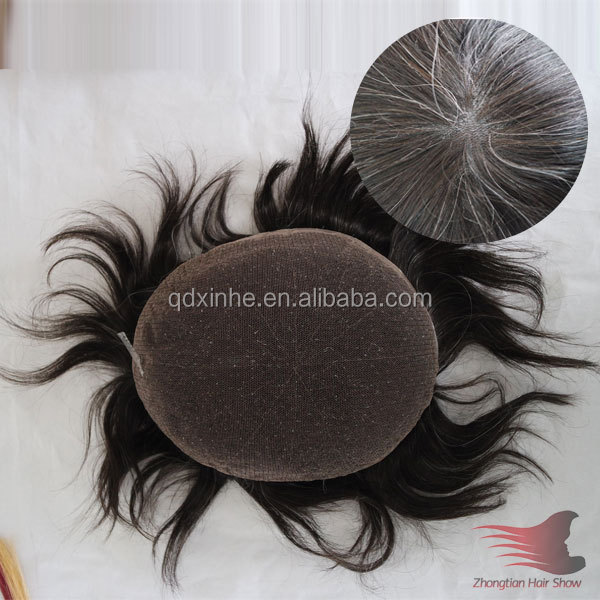 Top quality 100% Human Hair Men's Hair Systems Full Swiss Lace Men's Toupee Men's Hair Pieces