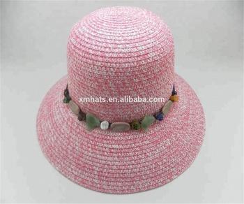 New arrival sombrero girl straw flat brim straw hat women fashion beach hat a75c1c67101