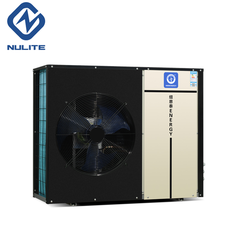 Europe EVI DC inverter monobloc air to water heat pump low ambient