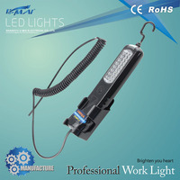Chinese supplier emergency 24+3(24) LED rechargeable work light wirh hanging hook and magnet