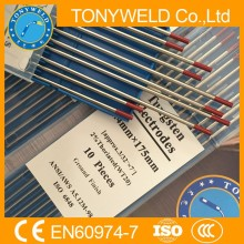 red 3.2*175mm WT20 TIG tungsten electrode