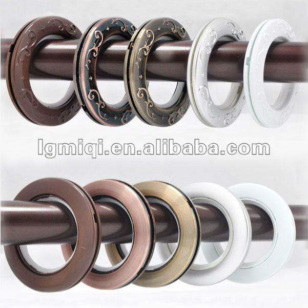 wholesale plastic curtain ring plastic curtain eyelets