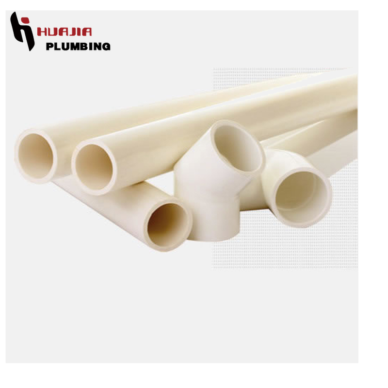 JH0133 thin plastic pipe 400mm pvc u drainage pipe rigid pvc pipe