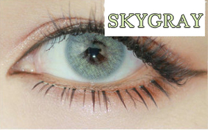 Aurora series natural eyes colors light gray comfort cosmetic popular various design latest stylecrazy contact lens
