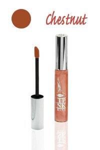 LIP INK Vegan Tinted Lip Shine Moisturizer, Chestnut
