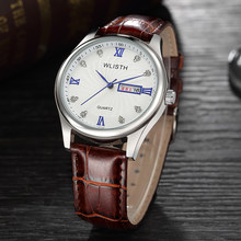 Wlisth новый топ Элитный бренд часы Мужская Мода Повседневное кварцевые нарядные часы Для мужчин Военная Униформа спортивный Водонепроницаем...(Китай)