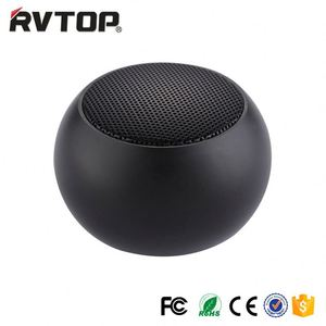 Rvtop portable mini BLE speaker compatible with Pod, mobilephone, MP3 & smartphones,usb rechargeable and battery powered