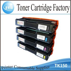 tk150 recycle refilling toner cartridges for color laser printer kyocera  FS-C1020MFP inkjet cartridge