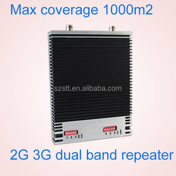 Signal Antenna 2G 3G Dual band cell phone signal booster amplifier,RF Repeater ,GSM 3G 900 2100mhz mobile signal booster