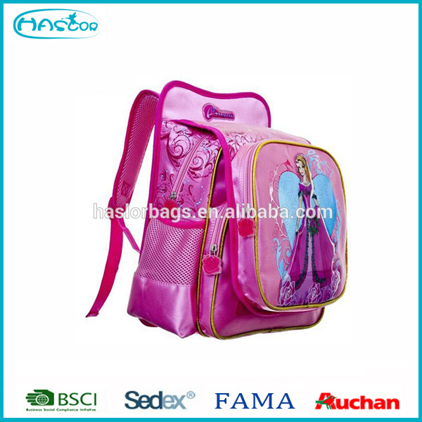 Cute Princess Backpack School /bulk Book Bags Good Printing - Buy ...