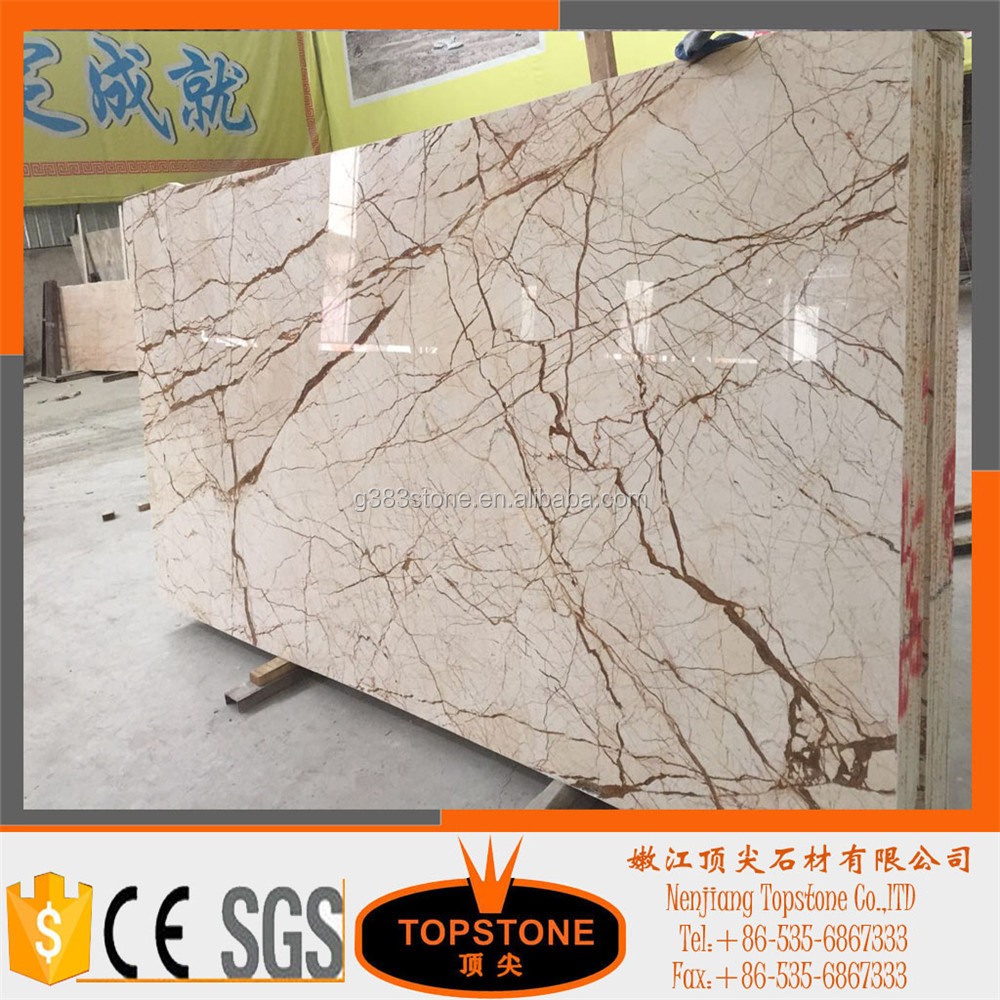 Italy gold for Natural marble tile