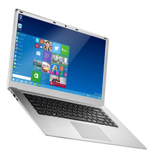 Ultraslim 15.6 pollice Intel Atom x5-Z8350 CPU 1.4 ghz Quad Core Computer Portatili Computer Win 10 Sistema di Wifi Webcam <span class=keywords><strong>Netbook</strong></span> 2 gb/32 gb EMMC