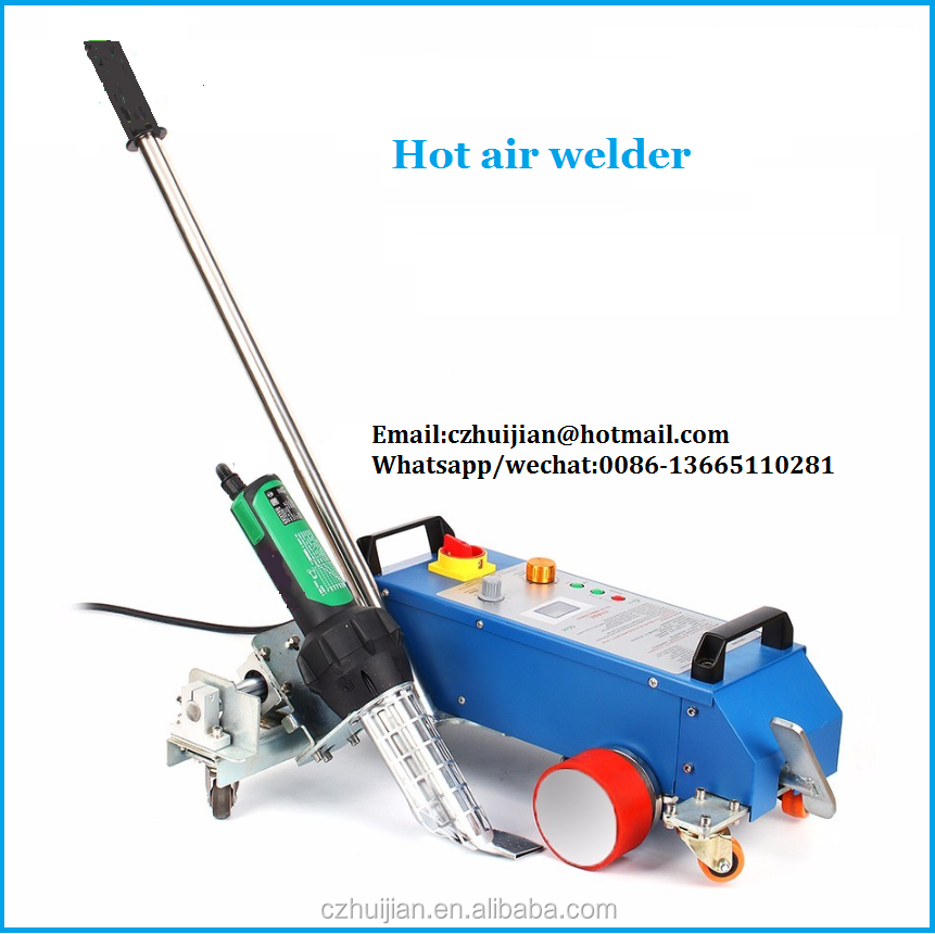 High efficiency banner welding machine 3600w heating element