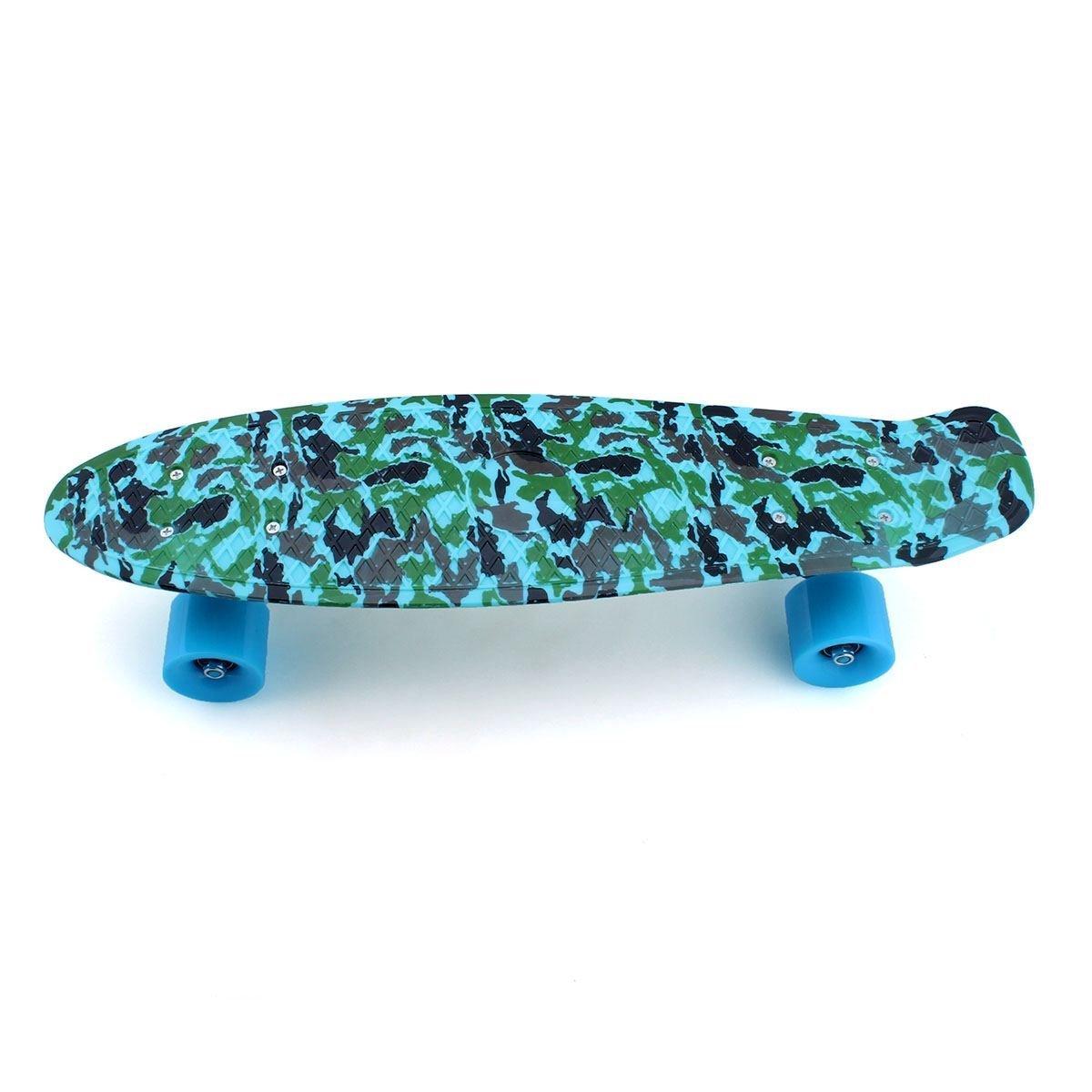 "Skateboards skateboards for kids Mini Board Complete 22"" Retro Skateboards New For Penny Style Plastic skateboards skateboards for boys/girls Ocean"