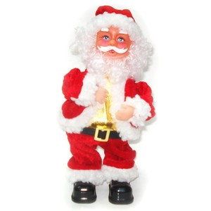 wholesale musical inflatable santa claus toy premium promotional christmas gifts