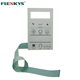 Factory price custom printing pcb push button embossed membrane switch keypad with 3m adhesive