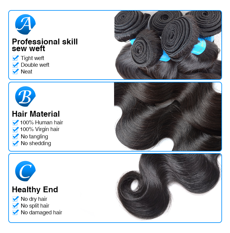 Soft and smooth virgin women hair attachment and weaving,virgin hair attachment braids,cheap human hair attachment for braids