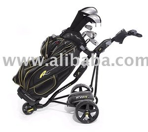 Powakaddy Freeway II Lithium Remote Controlled Electric Golf trolley car