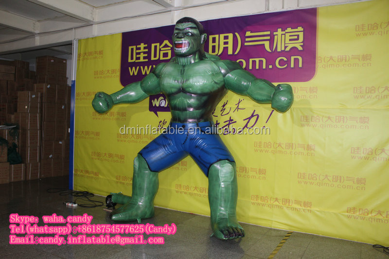 Customzied inflatable cartoon character for outdoor promotion C-140
