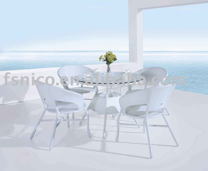 Dinning set NT09311out door furniture 2009