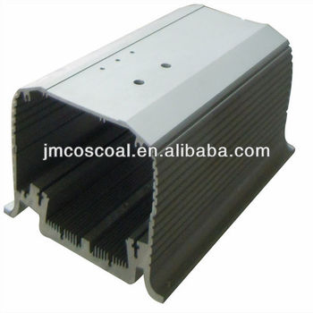 Customized car amplifier enclosure aluminium
