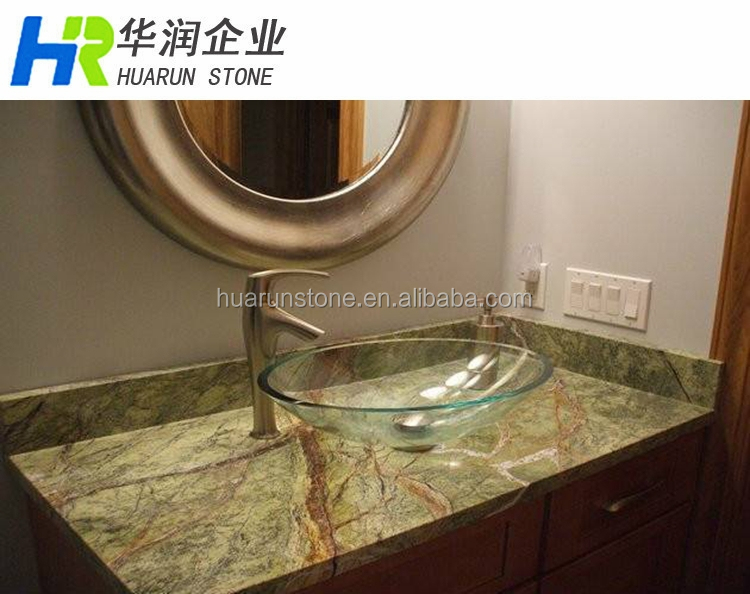 Rainforest Green Marble Countertop And Vanity Top
