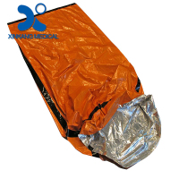 Dependable quality emergency foil survival sleeping bag for first aid