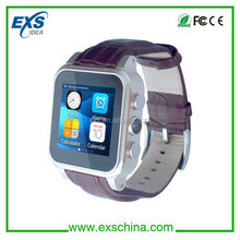latest wrist bluetooth watch phone with built in flash 4G Rom, bluetooth smart watch