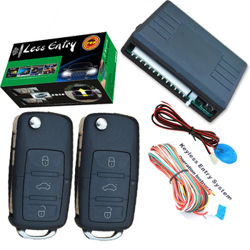 Car Keyless Remote Central Lock System With High Quality Alarm