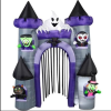 inflatable advertising halloween decoration halloween archway for party event in shopping mall